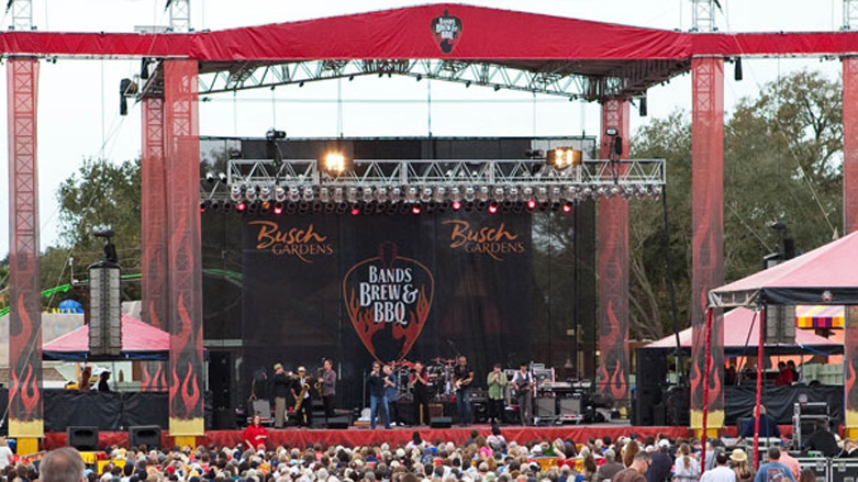 11/28/2012: Busch Gardens Tampa U2014 2013 Bands, Brew U0026 BBQ Bands Announced