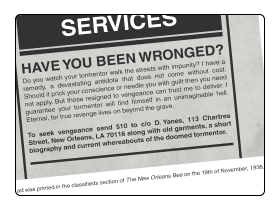 Have you been wronged?