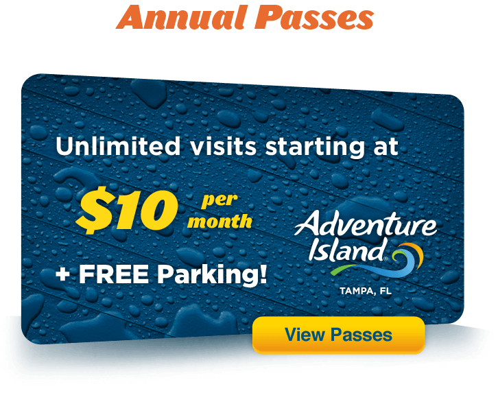 Adventure Island Annual Pass Discount Code