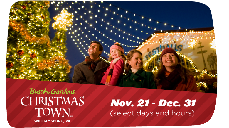 Christmas Town Busch Gardens Williamsburg