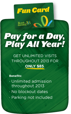 Pay for a Day, Play All Year - FUN CARD