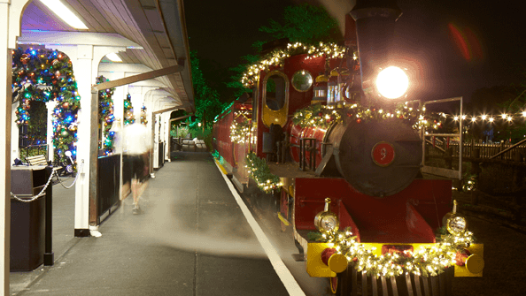 Busch Gardens Ready for Christmas Town