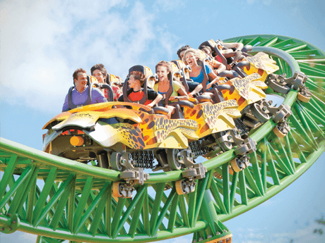 Cheetah Hunt Triple Launch Roller Coaster Busch Gardens